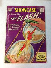 SHOWCASE #14 KEY ISSUE, 4TH SILVER AGE FLASH, TIME WORLD, 1958, DR ALCHEMY