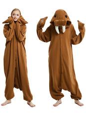 Kigurumi Adult Pajamas Costume Cosplay Walrus Animal Onesi0 Jumpsuit Robe Anime