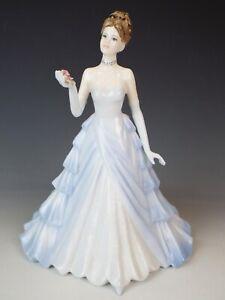 Coalport  Lady Figure  - Happiness - 9 inch tall