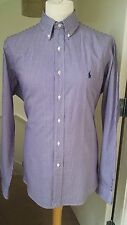Ralph Lauren Men's Striped fit Button Down Casual Shirts & Tops