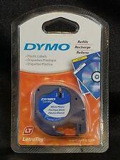 Dymo LetraTag Label Maker Tape Cartridge White