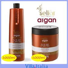 Kit per capelli all'olio di argan - Shampoo 1000ml + Maschera 1000ml