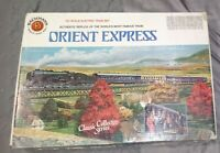 Bachmann HO RARE Orient Express Collector Train Set RARE COMPLETE IN BOX