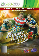 Action/Adventure Microsoft Xbox 360 Rugby Video Games
