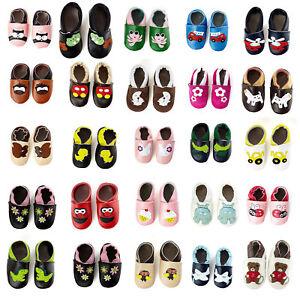 smileBaby Premium Leder Lauflernschuhe Krabbelschuhe Babyschuhe Schuhe