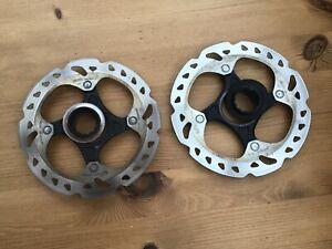 Shimano SM-RT81 105 140mm Road Gravel Bike Disc Brake Rotor Pair