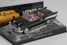 Movie James Bond Chevrolet Bel Air 1957 black / Dr. No  1:43 Ixo
