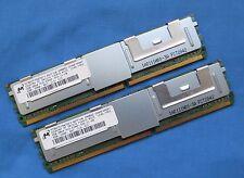 4GB (2x2GB MT36HTF25672FY-667F1N6 2Rx4 PC2-5300F Server Memory Kit 398707-751