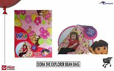 Dora The Explorer Designer Bean bag Licensed BNWT Pink Flowers and Dora print
