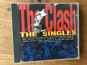 THE CLASH  -  THE SINGLES  CD
