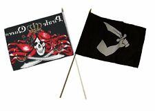 "12x18 12""x18"" Wholesale Combo Pirate Queen & Thomas Tew Arm Sword Stick Flag"