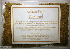 Caramel Flavour & Colouring  for popcorn
