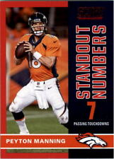 2017 Score Standout Numbers Red #14 Peyton Manning - NM-MT