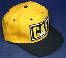 Cat Caterpillar Snapback Hat - Trucker - Nissin - NOS - Vintage