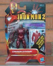 "Iron Man 2 CRIMSON DYNAMO 3.75"" Comic Series IRONMAN Marvel Universe"