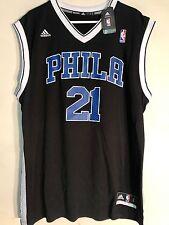 Adidas NBA Jersey Philadelphia 76ers Joel Embiid Black Alt sz XL