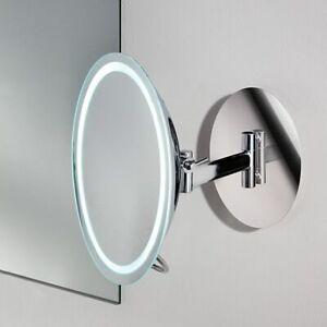 Chelsom BW/110 Light Up, Magnifying Bathroom Mirror - For Shaving, Makeup Etc