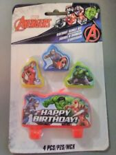 Marvel Avengers Birthday Candle Set