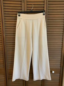Sonia Rykiel Cream Wool Angora Pants - size 42 - US Small