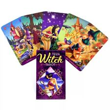 2021 New Teen Witch Tarot Oracle Deck Games 78 Cards Magic Divination English.
