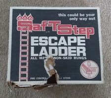 Saf-T Step 15 ft All Metal Folding Non-Skid Window Fire Escape Ladder