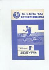 Third Division Gillingham Teams F-K Football Programmes