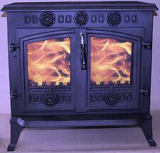 2 * Glass for JA006 HI006 Wood burning stove 230 mm * 202 mm High Definition