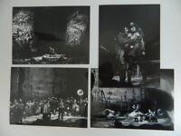 Lote 26 Foto Foto Original Opera Hamburgo Alemania Othello 1975