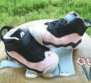 "Jordan 6 Rings ""Pink Foam"" Girls' BRAND NEW Toddler 5C"