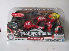 Transformers Target Exclusive DOTM Human Alliance Leadfoot w Sergeant Detour