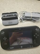 Nintendo Wii U Wireless Controller Touchscreen Gamepad with AC Adapter Only