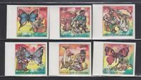 IB93 - INSECTS BUTTERFLIES TOGO 1990 BUTTERFLIES MUSHROOMS SCOUTS  IMPERF MNH
