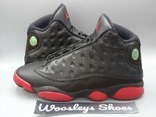 Nike Air Jordan 13 XIII Retro Dirty Bred Black Gym Red 414571-003 Sz 8.5