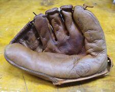 Vintage 1950's Sears JC Higgins Bob Grim RH Baseball Glove--NY Yankees Adult
