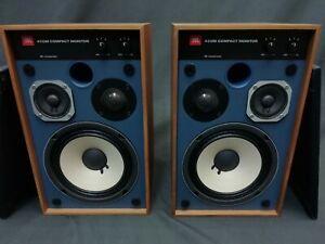 JBL 4312M Compact 3 Way LoudSpeaker Speaker Set Blue Line Harman Tested