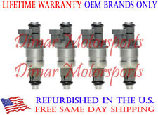 Lifetime Warranty - OEM Siemens Fuel Injector Set of 4