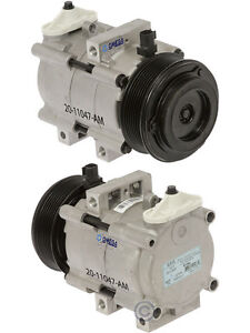 New A/C AC Compressor Fits: 2007 2008 2009 2010 Ford E350 E450 Superduty V8 6.0L