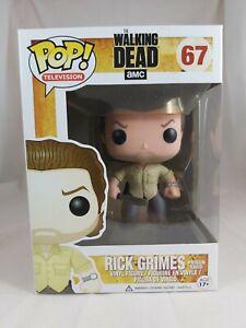 Television Funko Pop - Rick Grimes (Prison Yard) - The Walking Dead - No. 67