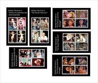 2013 Marilyn Monroe movies 17 SOUVENIR SHEETS MNH UNPERFORATED