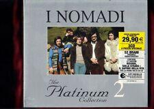 NOMADI-PLATINUM 2 BOX 3 CD NUOVO SIGILLATO
