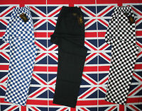 Pack discount 3 chef pants trousers L&G London Uniforms U.K. different colours