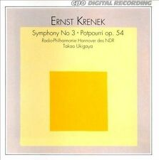Ernst Krenek: Symphony No 3/Potpourri, Op 54, New Music