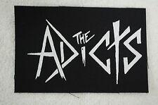Adicts Punk Rock Sex Pistols G.B.H. Toy Dolls Black Flag Cloth Patch (CP50)