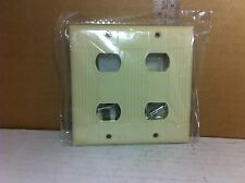 Eagle 954V-BOX Two Gang Wall Plate w/Interchange Strap for Eagle Devices (Ivory)