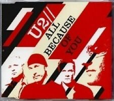 U2 - All Because of You AU CD w/ Rare B-Sides, Miss Sarajevo