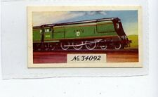 (Jd4149) LYONS MAID,TRAIN SPOTTERS,S.R.WEST COUNTRY CLASS 4-6-2,1962,#40