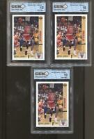 3 CT 1991-92 Michael Jordan Upper Deck #44 Gem Mint 10 RC Chicago Bulls MVP HOF