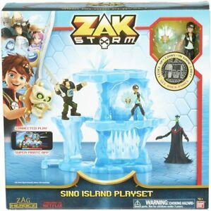 Zak Storm Sino Island Playset With Coin Age 4+ Bandai 41570 Free UK Postage
