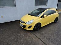 61 Vauxhall Corsa 1.2i Limited Edition Damaged Salvage Repairable