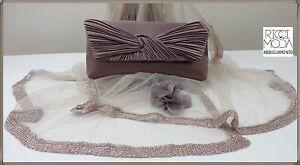 96 Bag Backpack Shopper Handbag Bag Shoulder Strap Clutch Bag Taupe 9600870019